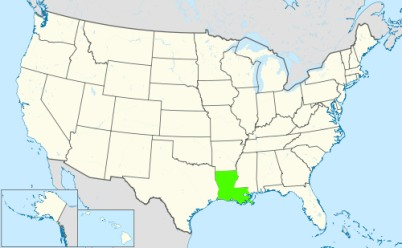 Phone numbers of the state Louisiana
