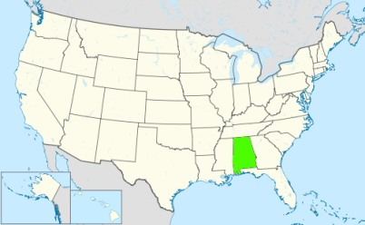 Phone numbers of the state Alabama