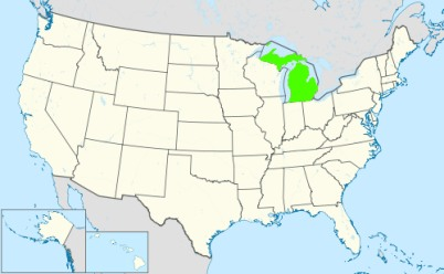 Phone numbers of the state Michigan