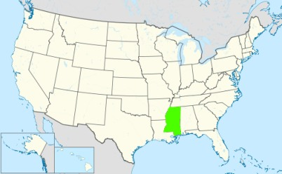 Phone numbers of the state Mississippi