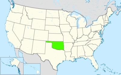 Phone numbers of the state Oklahoma