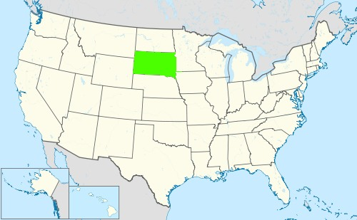 Phone numbers of the state South Dakota