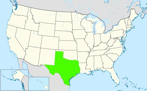 Phone numbers of the state Texas