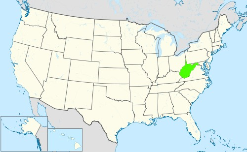Phone numbers of the state West Virginia