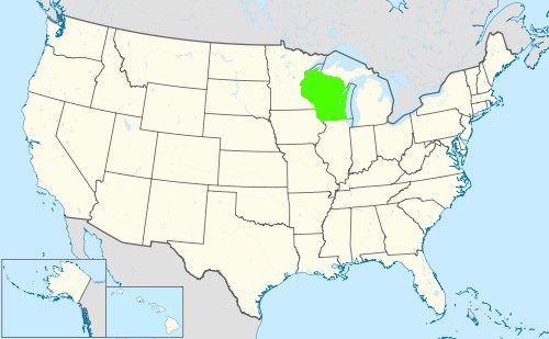 Phone numbers of the state Wisconsin